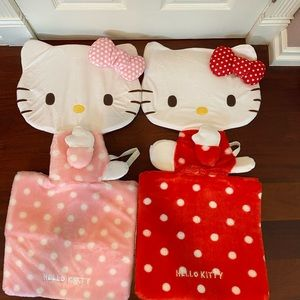 NWT Hello Kitty Car Seat Cover Set